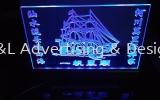 Customize Acrylic Signage with LED Multi Color Lighting Acrylic Signage