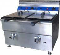 Gas Deep Fryer (Double) GF182 / Mesin Mengoreng Gas GF182