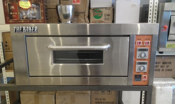 Electric Oven 1 Deck 1 Tray (The Baker) / Elektrik Ketuhar 1 Tingkat 1 Loyang (E1D1TBK)