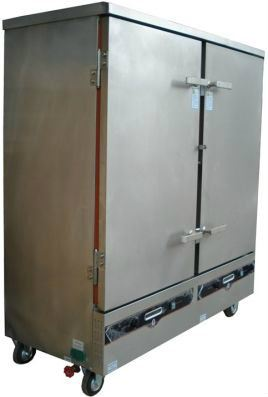 Gas Steamer 24 Trays (GRS-24) / Gas Pengukus 24 Dulang (GRS-24)
