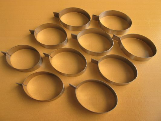 D503-8 Bird Nest Biscuit  Mould (Egg) 燕饼加工模具(蛋型)