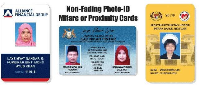 Proximity Cards - White PVC or Pre-Pinted Proximity Cards Malaysia, Kuala Lumpur Manufactuer & Supplier | Multi Card