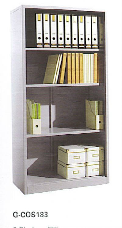 Open Shelf Full Height Cupboard