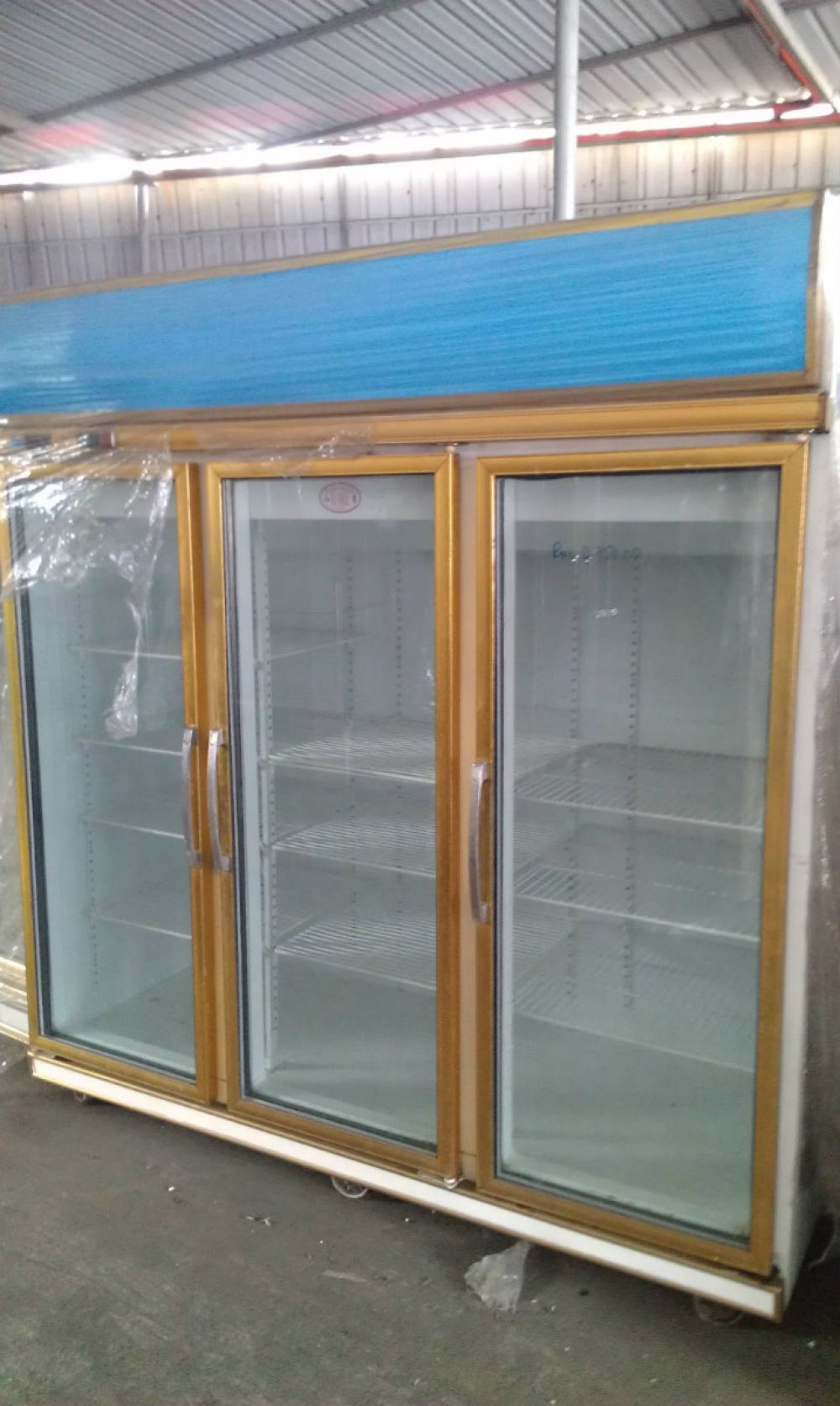 3 door chiller glass door display chiller chiller and for Door design johor bahru