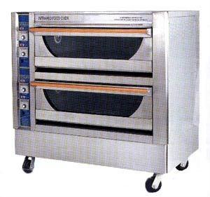 Orimas Gas Oven 2 Deck 4 Trays E2D4TH / Orimas Gas Ketuhar 2 Tingkat 4 Loyang E2D4TH