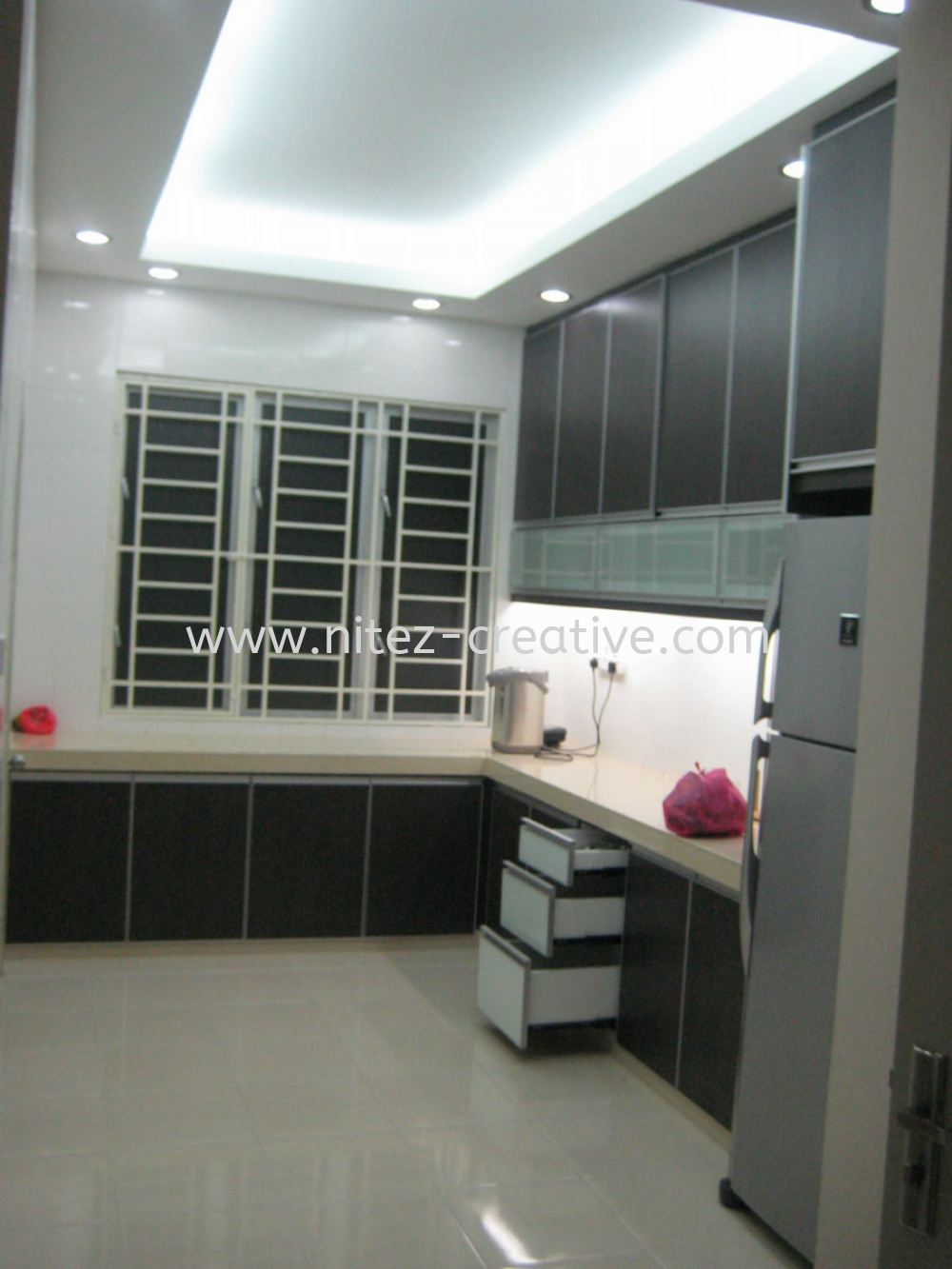 Wet kitchen bukit indah kitchen design jb johor bahru for I kitchen bukit indah