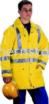 TUFFSAFE Waterproof High Visibility Coats Special Hazard Clothing Personal Protection