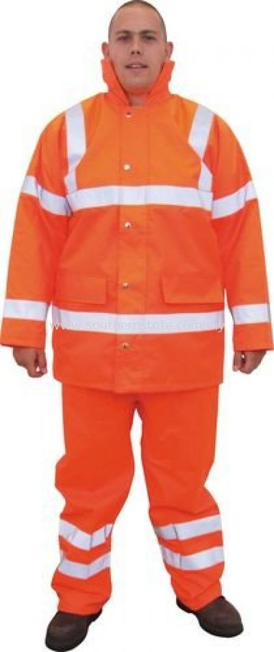 TUFFSAFE Waterproof High Visibility Coats