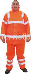 TUFFSAF Waterproof High Visibility Coats Special Hazard Clothing Personal Protection