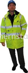 TUFFSAFE 5-in-1 High Visibility Waterproof & Breathable Coats Special Hazard Clothing Personal Protection
