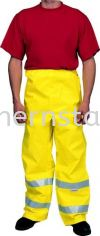 TUFFSAFE Waterproof High Visibility Trousers Special Hazard Clothing Personal Protection