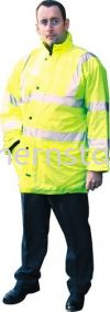 TUFFSAFE Breathable High Visibility Coats Special Hazard Clothing Personal Protection