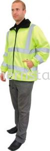 TUFFSAFE Hi-Vis Fleece Jacket Special Hazard Clothing Personal Protection