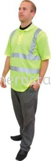 TUFFSAFE Hi-Vis Polo Shirt Special Hazard Clothing Personal Protection