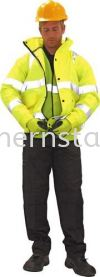 SITESAFE Hi-Vis Bomber Jacket Special Hazard Clothing Personal Protection