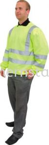 TUFFSAFE Hi-Vis Sweatshirt Special Hazard Clothing Personal Protection