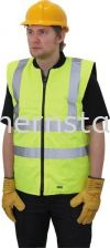 TUFFSAFE High Visibility Body Warmers Special Hazard Clothing Personal Protection
