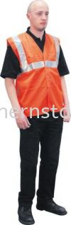 TUFFSAFE High Visibility Waistcoats Special Hazard Clothing Personal Protection