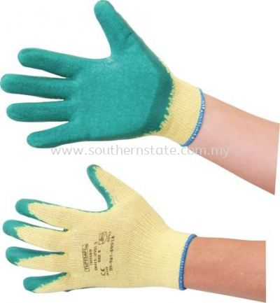TUFFSAFE Latex-Coated Gloves