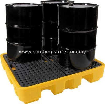 SOLENT Spill Pallets ��4 drum��
