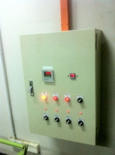 ENERGY SAVING CONTROL PANEL DESIGN AND INSTALLATION FOR AC INDUCTIO MOTOR