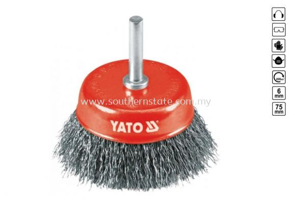 Yato Cup Brushes(YT-4751)