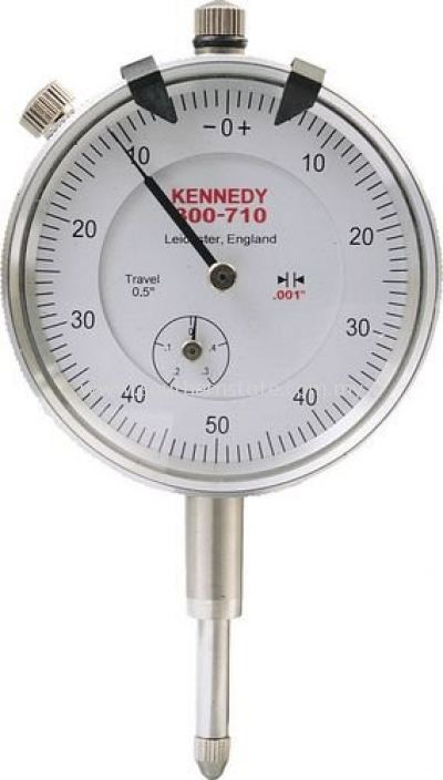 KENNEDY Easy Read Dial Gauges Plunger Type