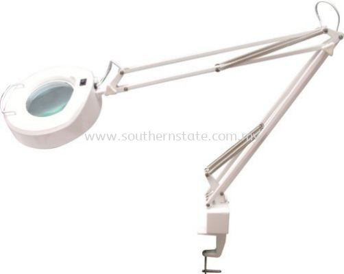 OXFORD Llluminated Bench Magnifier-Adjustable Arm Type