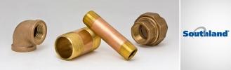 Red Brass Fittings & Nipples Metal Fittings & Nipples Mueller
