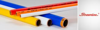 Plastic Coated Copper Tube HVAC Tubes And Pipes Mueller