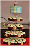 Cupcake Tower For Baby Full Moon  Cupcake Tower Sienna Patisserie