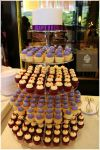 Cupcake Tower For Wedding Lunch In Purple Theme Cupcake Tower Sienna Patisserie