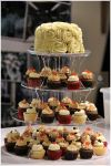 Cupcake Tower For Couple ROM Cupcake Tower Sienna Patisserie
