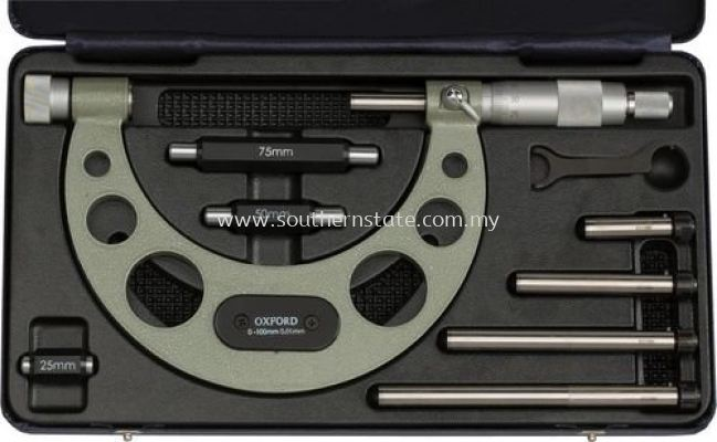 OXFORD Interchangeable Anvil Micrometers ��0-150mm��