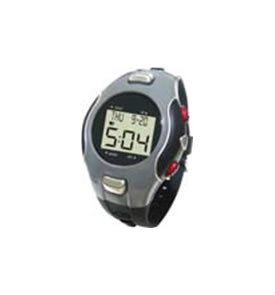 Watch Pedometer with Pulse Rate Counter