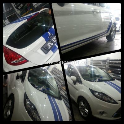 Ford Fiesta Car Sticker