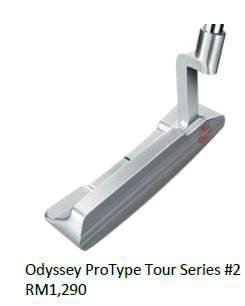 Odyssey ProType Tour Series No 2 Putter