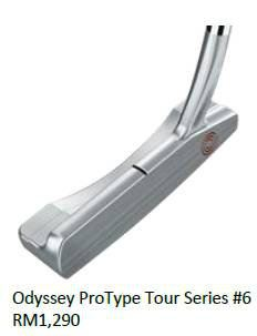 Odyssey ProType Tour Series No 6 pUTTER