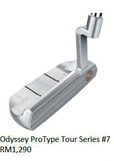 Odssey ProType Tour Series No 7 Putter
