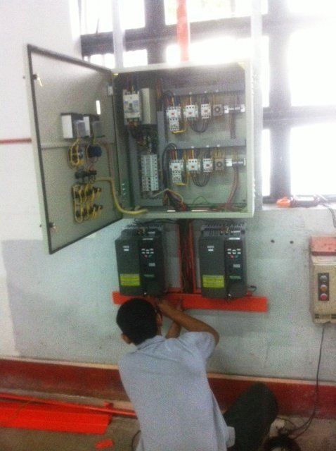 STAR DELTA CONTROL UPGRADE TO VARIABLE SPEED DRIVE INVERTER