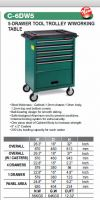 C-6DW5 Tool Trolley Professional Tool Trolley And Mechanic Tools Set Jonnesway