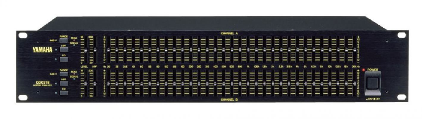 Yamaha Q2031B Graphic Equalizer