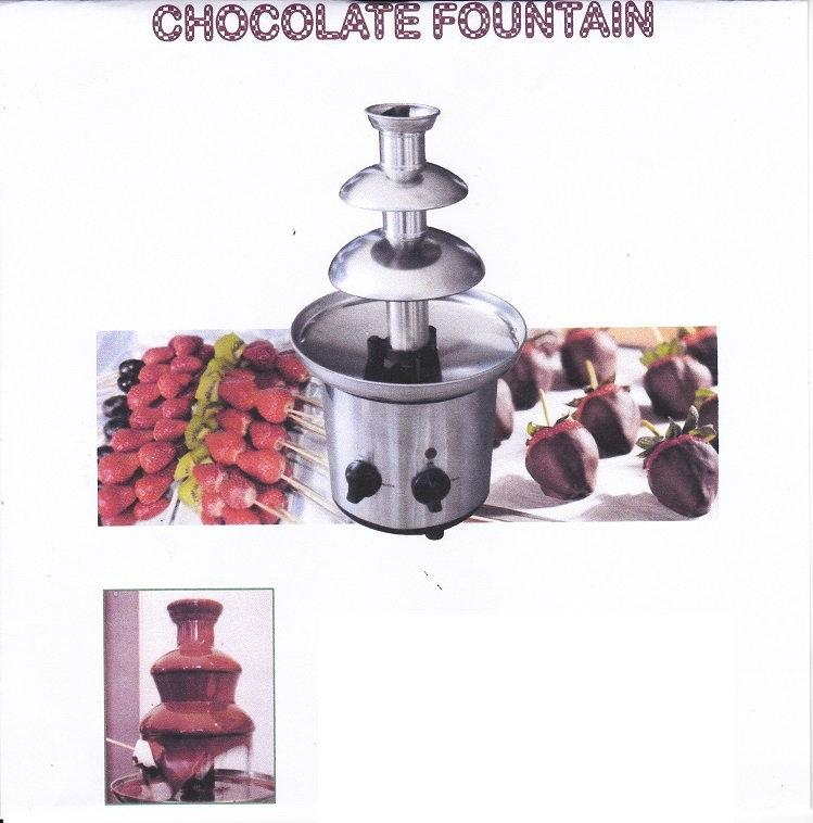 Used Kitchen Equipment Miami: Chocolate Fountain Kiosk Equipments Johor Bahru JB