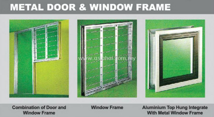 Metal Door & Window Frame