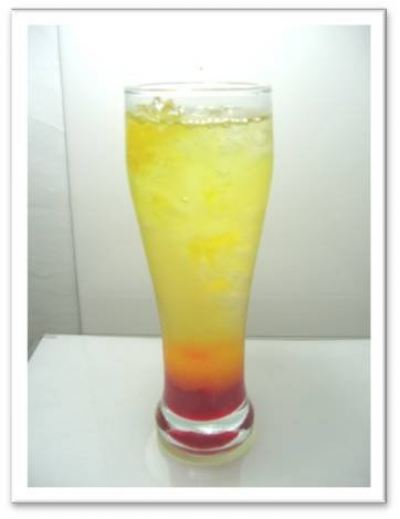 2 layer drink