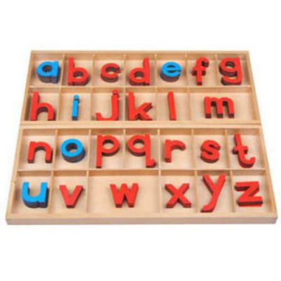 KL022J Large Wooden Movable Alphabet