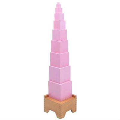 KS010J Pink Tower with Stand