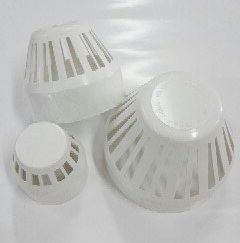 PVC cap for koi pond - 2, 3 and 4 inches diameter