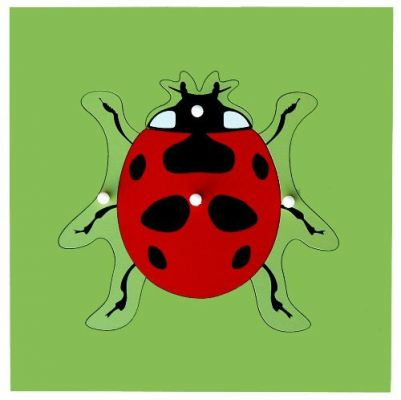 KB024 Insect Puzzle - Ladybird
