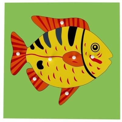 KB013 Animal Puzzle-Fish